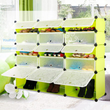 Custom Foldable Plastic Cabinet Wardrobe (Transparent)