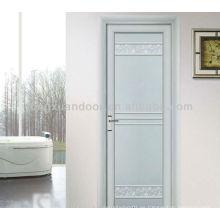 Puerta de aluminio de la hoja, contemporáneo moderno simple pero diseño de la manera