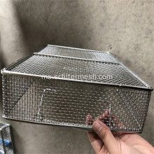 Stainless Steel Weave Wire Mesh Baskets
