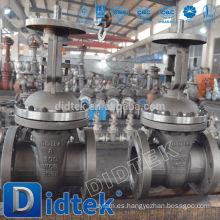 Didtek 30 Years Valve Fabricante válvula de compuerta de cuchilla con brida accionada hidráulicamente