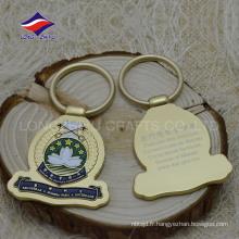 Porte-clés décoratif en matériau métallique efficace ouvre-bouteille pratique