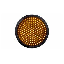 300 mm 12 polegada LED Semáforo amarelo veículo luz óptico âmbar óptico