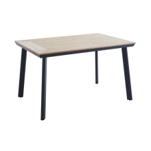 Wholesale aluminium PS wood plastic wood outdoor garden table
