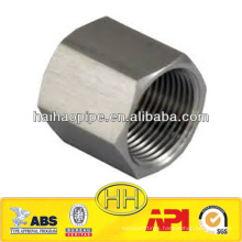 ASTM A403 304L stainless steel hexagon head cap