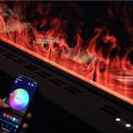 3D atomization fireplace