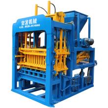 China Manufacture Qt4-15 Automatic Cement Concrete Hollow Block Making Machine