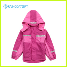 Waterproof Children′s PU Ski Suit Rum-018