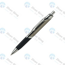 Pluma triangular con forma de metal