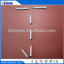 Hot sale 1inch electro galvanized reinforce concrete nails