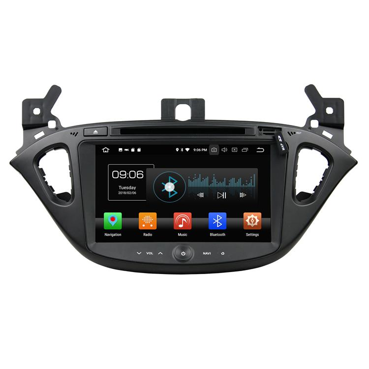 Opel Corsa android audio systems with navigation (1)