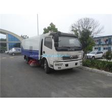 Caminhão da vassoura da estrada 4x2 para a limpeza exterior