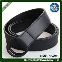 Leather Men's Casual Belt D - Ring Belt