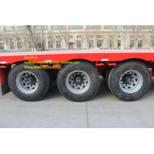 Sinotruk cimc 3axles flatbed semi reboque