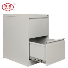 Vertical 2 drawer metal storage file cabinet