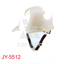 Casco de seguridad del CE PE de la construcción blanca Jy-5512