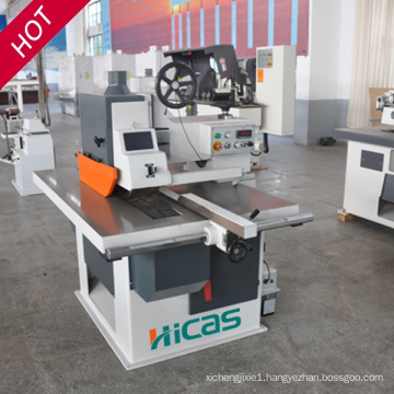 Mj154 Good Quality Rip Saw with Bottom Blade Wood Saw Machine