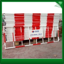 PVC powder coated steel traffic fence