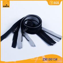 Beste Qualität Metall Reißverschluss mit Reversible Silder für Jacke ZM10013