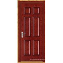 Puerta de pintura de madera (HDB-001-004)
