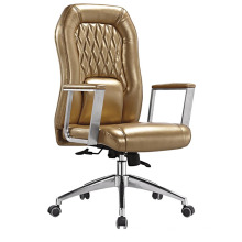 Chaise de réunion de bureau en cuir de dossier de haute qualité (HF-B1505)