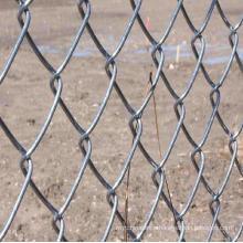 Hot-Dipped Galvanized Iron Wire Mesh Chain Link Fence (anjia-186)