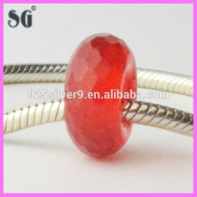 new products 2016 fashion jewelry china glass bead red coral beads for sale