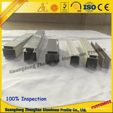 Furniture Aluminum Profile for Rail Profile Sliding Rail Profile
