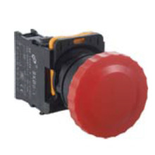 Lumière de bouton poussoir de Mushroon de 22mm Ce