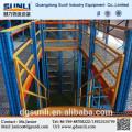Pálete de feixe de caixa plataforma aço industrial de construção mezanino do racking