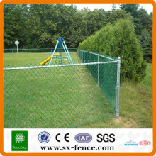 sport netting chain link fence