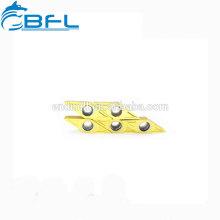 Вставки для токарных инструментов BFL с твердосплавными напайками
