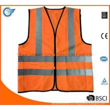 En20471 Vestuário de segurança com revestimento de segurança Jacket for Fluorescent