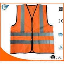 En20471 Предупреждающая куртка Рабочая одежда Куртка для флуоресцентных