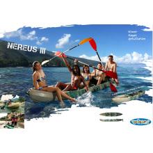 Gran capacidad de peso de uso de la familia de plástico sentarse en Kayak de pesca superior