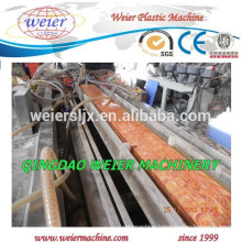 PVC WPC ecological decking panel extrusion line