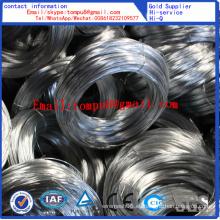 Alambre galvanizado eléctrico y alambre galvanizado en caliente (fábrica directa)