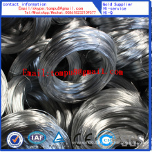 Fil galvanisé électrique et fil galvanisé IMMERSION chaude (usine directe)