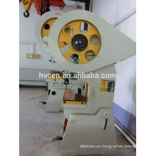Máquina de la prensa del sacador JB23 25T