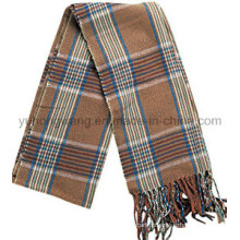 Moda homens acrílico lenço tecido