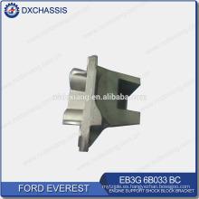 Soporte de bloque de amortiguador de soporte de motor genuino Everest LH EB3G 6B033 BC