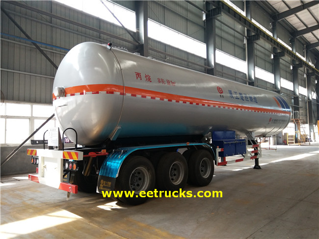 3 Axle LPG Trailer Tanks