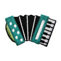 Pretty Cute Accordion Music Embroidered Patch