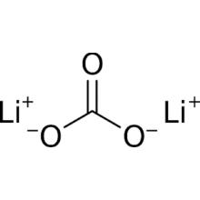col de flamme de lithium ou