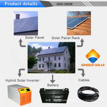 4000W off Grid Solar Power Generator System for Home