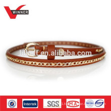Hot Sale Leather Women Chain Belt