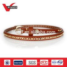 Hot Sale Leather Women Chain Belt