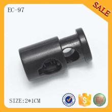 EC97 Adjustable custom cord drawstring stopper