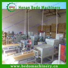 Vente chaude comprimée sciure de bois bloc faisant la machine / bois palette journal makig machine avec le prix raisonnable 008613253417552