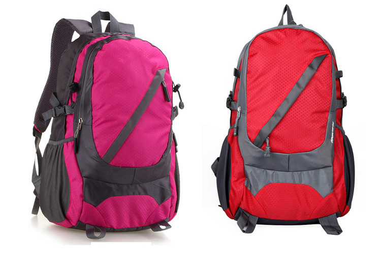 Waterproof wear double backpack