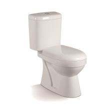 055A WC económico de dos piezas con cubierta de armario PP